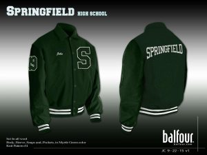 springfield high school vt letter jackets