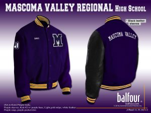 mascoma valley regional high school nh letter jackets